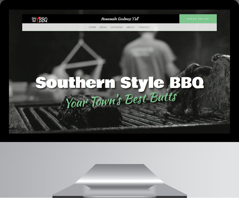 BBQ Restaurant Website Design